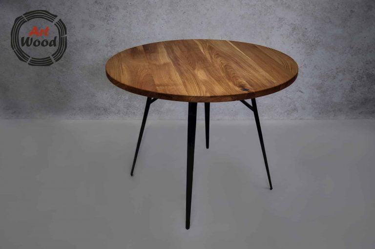 Stół loftowy okrągły
