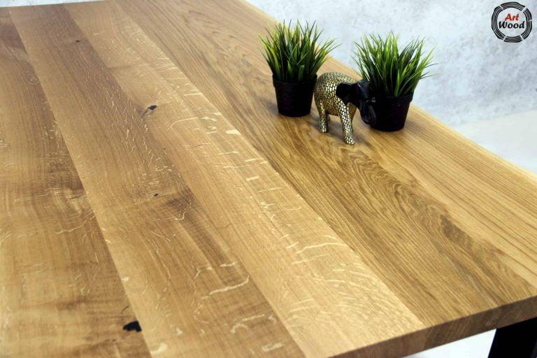 Stół z blatem dębowym